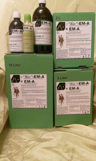 EM-A; Effektive Mikroorganismen aktiviert